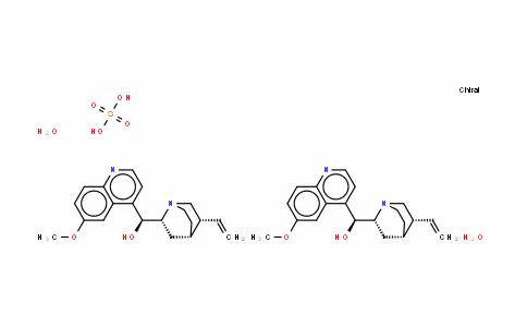 Quinidine sulfate salt dihydrate