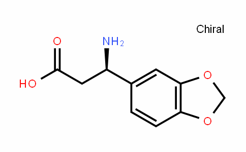 (R)-3-Amino-3-benzo[1,3]dioxol-5-ylpropionic acid