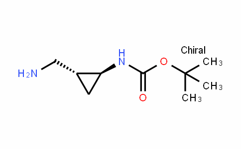 tert-butyl (1S,2R)-2-(aminomethyl)cyclopropylcarbamate
