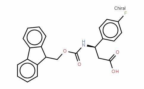 Fmoc-(R)-3-Amino-3-(4-fluoro-phenyl)-propionic acid