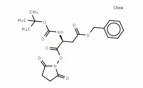 Boc-L-aspartic acid 4-benzyl 1-(hydro-xysuccinimide) ester