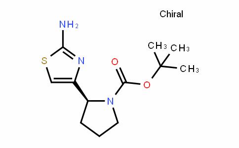 (S)-tert-butyl 2-(2-aminothiazol-4-yl)pyrrolidine-1-carboxylate