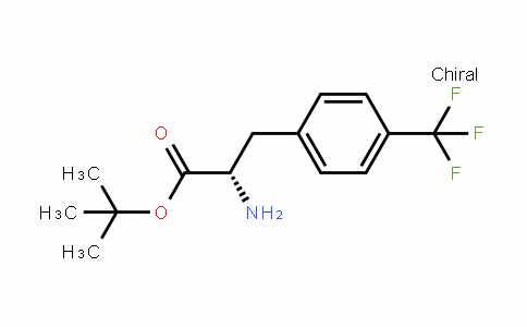 (S)-4-(Trifluoromethyl)phenylalanine  t-butyl ester