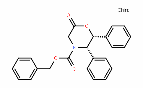 (2R,3S)-benzyl 6-oxo-2,3- diphenylmorpholine-4-carboxylate