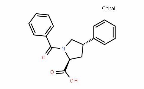 (Trans)-1-benzoyl-4-phenyl-L-proline