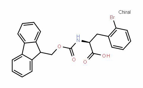 (S)-N-Fmoc-2-Bromophenylalanine