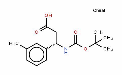 Boc-(S)- 3-Amino-3-(3-methylphenyl)-propionic acid