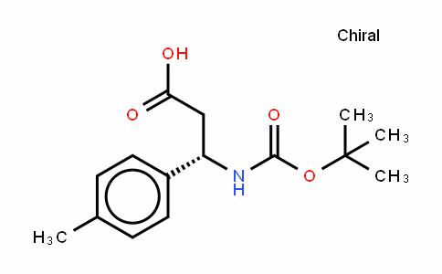 Boc-(S)- 3-Amino-3-(4-methylphenyl)-propionic acid