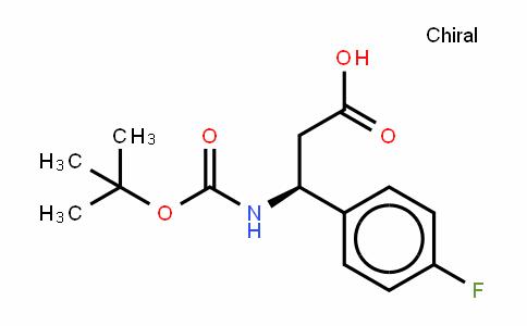 Boc-(S)-3-Amino-3-(4-fluoro-phenyl)-propionic acid