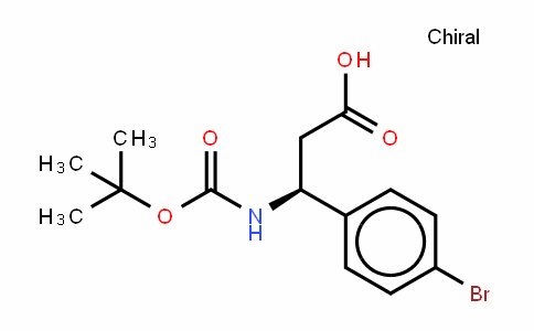 Boc-(S)-3-Amino-3-(4-bromo-phenyl)-propionic acid