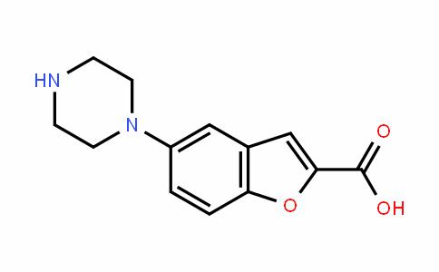 5-(piperazin-1-yl)benzofuran-2-carboxylic acid
