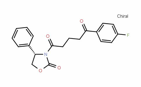 (4S)-4-Phenyl-3-[5-(4-fluorophenyl)-5-oxopentanoyl]-1,3-oxazolidin-2-one
