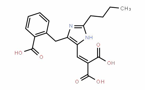 2-((2-Butyl-4-(2-carboxybenzyl)-1H-imidazol-5-yl)methylene)malonic acid