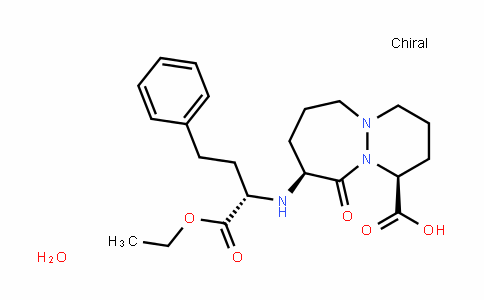 (1S,9S)-9-((S)-1-ethoxy-1-oxo-4-phenylbutan-2-ylamino)-10-oxooctahydro-1H-pyridazino[1,2-a][1,2]diazepine-1-carboxylic acid hydrate