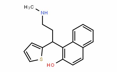 1-(3-(Methylamino)-1-(thiophen-2-yl)propyl)naphthalen-2-ol