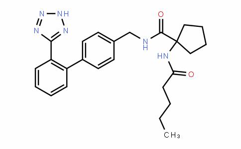 N-((2'-(2H-tetrazol-5-yl)biphenyl-4-yl)methyl)-1-pentanamidocyclopentanecarboxamide