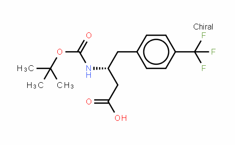 Boc-(r)-3-amino-4-(4-trifluoromethyl-phenyl)-butyric acid