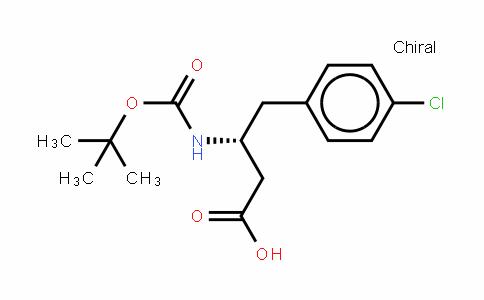 Boc-(r)-3-amino-4-(4-chloro-phenyl)-butyric acid