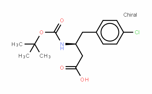 Boc-(s)-3-amino-4-(4-chloro-phenyl)-butyric acid