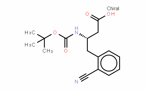 Boc-(s)-3-amino-4-(2-cyano-phenyl)-butyric acid