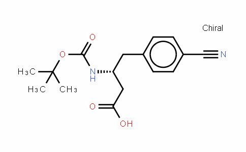 Boc-(r)-3-amino-4-(4-cyano-phenyl)-butyric acid