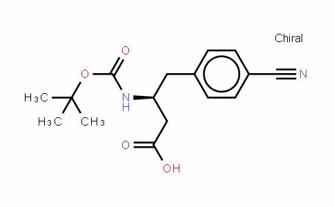 Boc-(s)-3-amino-4-(4-cyano-phenyl)-butyric acid