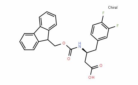 (S)-3-(Fmoc-amino)-4-(3,4-difluoro-phenyl)butanoic acid