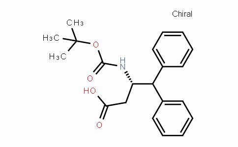(S)-3-(Boc-amino)-4,4-diphenyl-butyric acid