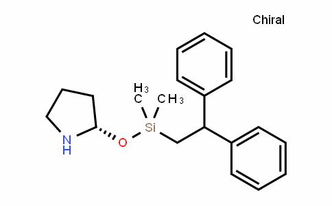 (S)-2-((2,2-diphenylethyl)dimethylsilyloxy)pyrrolidine