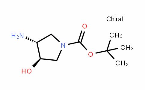 trans-3-Amino-1-Boc-4-hydroxypyrrolidine