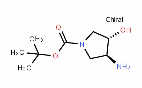 (3S,4S)-N-Boc-3-amino-4-hydroxypyrrolidine