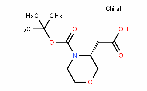 R-3-Carboxymethyl-morpholine-4-carboxylic acid tert-butyl ester