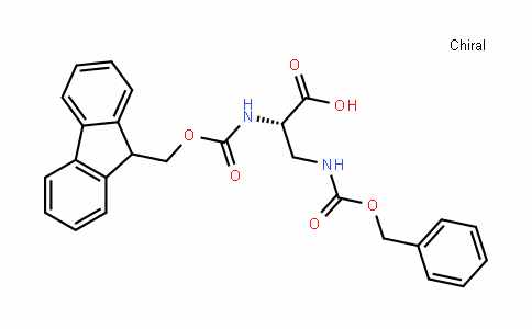 (S)-2-(((9H-fluoren-9-yl)methoxy)carbonylamino)-3-(benzyloxycarbonylamino)propanoic acid