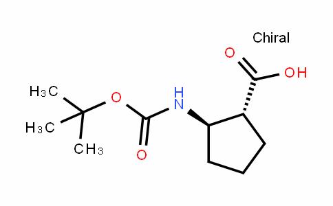 (1R,2R)-Boc-2-amino-1-cyclopentane carboxylic acid
