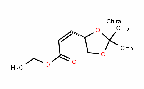 Ethyl-(Z)-3-[(4S)-2,2-dimethyl-1,3-dioxolan-4-yl]-2-propenoate