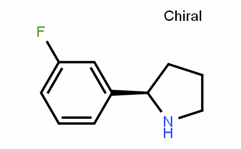 (R)- 2-(3-fluorophenyl)pyrrolidine