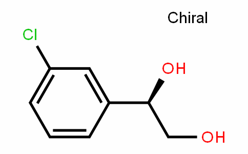 (R)-1-(3-chlorophenyl)ethane-1,2-diol