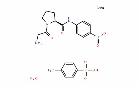 (S)-1-(2-aminoacetyl)-N-(4-nitrophenyl)pyrrolidine-2-carboxamide 4-methylbenzenesulfonate hydrate