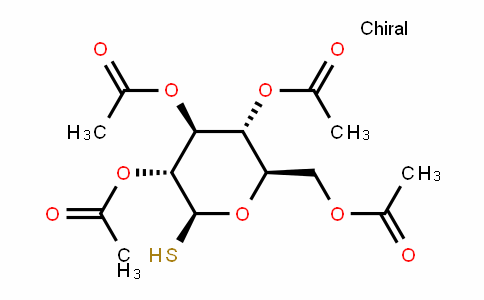 (2R,3R,4S,5R,6S)-2-(acetoxymethyl)-6-mercaptotetrahydro-2H-pyran-3,4,5-triyl triacetate
