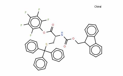Fmoc-D-Cys(Trt)-OPfp