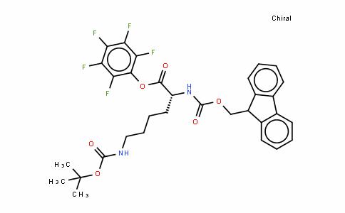 Fmoc-D-Lys(Boc)-OPfp