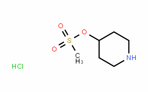 4-[(Methylsulfonyl)oxy]piperidine hydrochloride