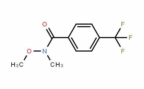 N-Methoxy-n-methyl-4-(trifluoromethyl)benzamide