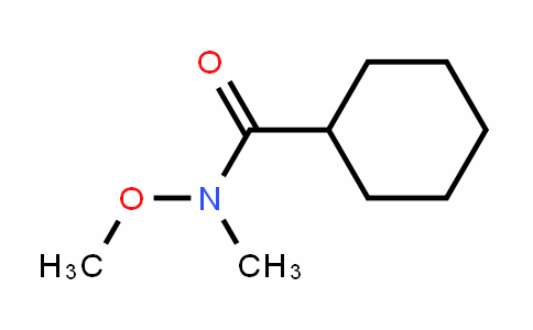 N-Methoxy-n-methylcyclohexanecarboxamide