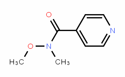 N-methoxy-N-methyl-4-pyridinecarboxamide