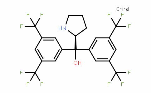(S)-alpha,alpha-bis[3,5-bis(trifluoromethyl)phenyl]-2-pyrrolidinemethanol