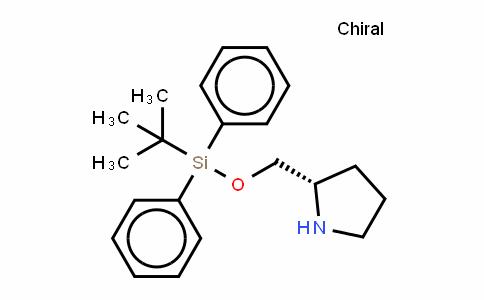 (S)-[(diphenyl)-t-butyldimethylsiloxymethyl]pyrrolidine