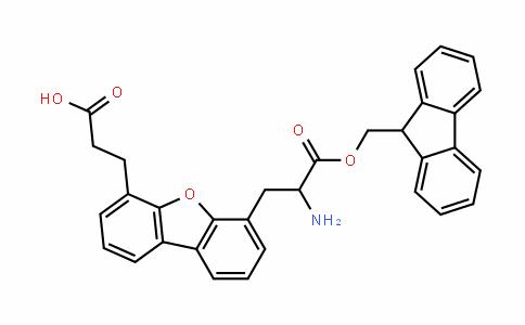 4-(Fmoc-2-aminoethyl)-6-dibenzofuranpropionic acid
