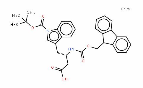 Fmoc-β-HomoTrp(Boc)-OH