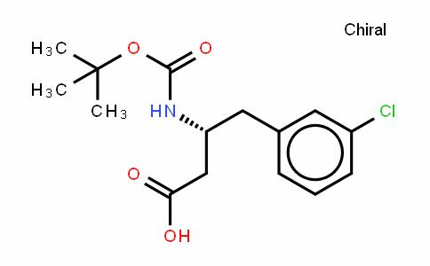 BOC-D-β-homo-3-CL-Phe-OH